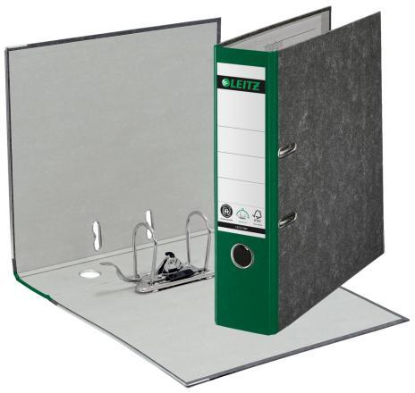 Leitz Ordner DIN A4, 80 mm breit in Hartpappe schwarz