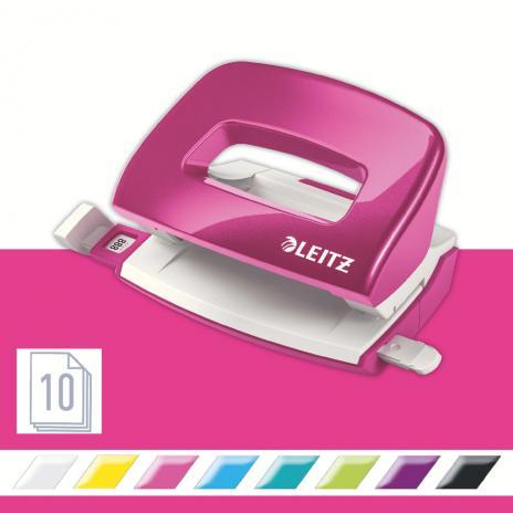 Leitz Locher New NeXXt WOW 10 Bl. pink