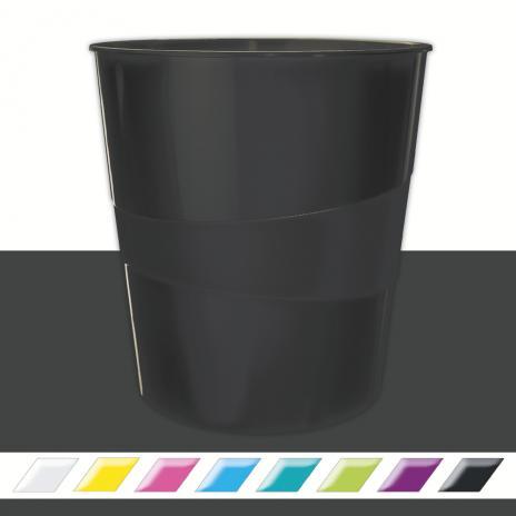 Leitz Papierkorb WOW violett