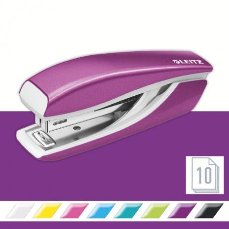 Leitz Heftgerät New NeXXt WOW 10 Bl. (80 g/m²) violett