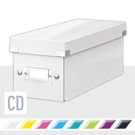 Leitz Archivbox WOW Click & Store CD blau