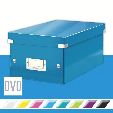 Leitz Archivbox Click & Store DVD blau
