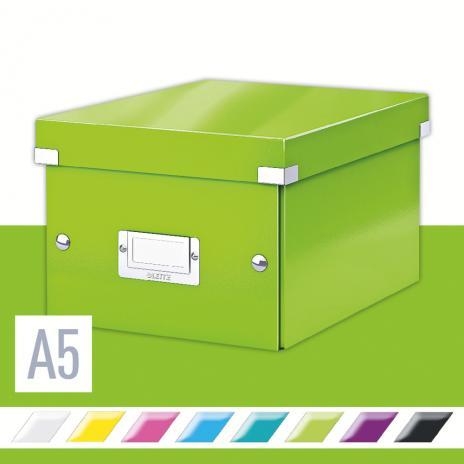 Leitz Aufbewahrungsbox Click & Store 21,6 x 16 x 28,2 cm (A5) schwarz