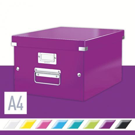 Leitz Aufbewahrungsbox Click & Store 28,1 x 20 x 36,9 cm (A4) weiß