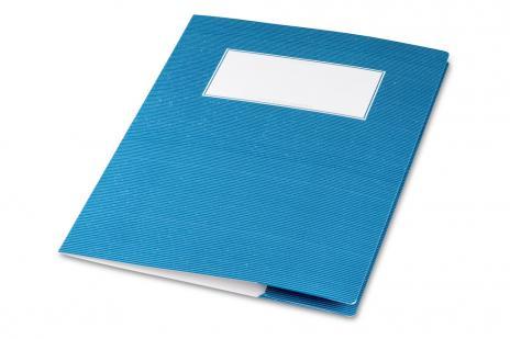 minouki Heftumschlag aus Recyclingpapier einfarbig hellgrün