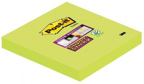 Post-it® Haftnotiz Super Sticky Notes 76x76 mm mohnrot