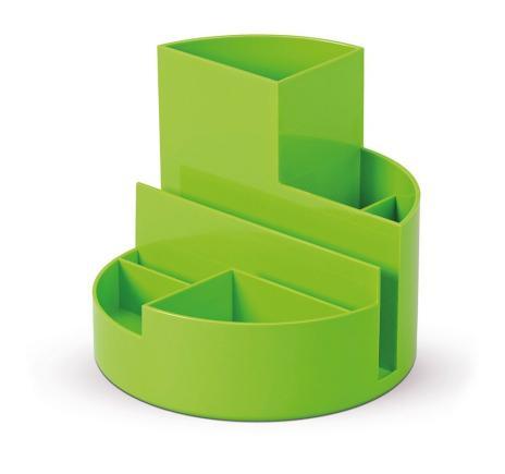 MAUL Stifteköcher MAULrundbox hellgrün