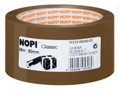 NOPI® Packband Classic 50 mm x 66 m transparent