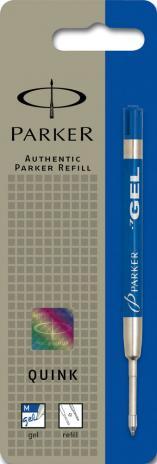 Parker Gelmine Quink blau