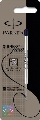 Parker Kugelschreibermine QUINKflow 1 mm Blister schwarz