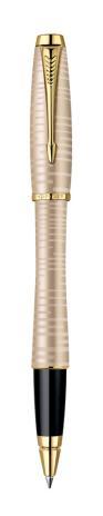Parker Rollerball URBAN Premium Golden Pearl G.C. F Schwarz