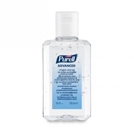PURELL® Advanced Hygienisches Händedesinfektionsmittel 100ml