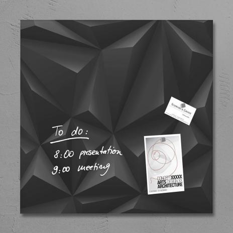 Sigel Glasboard artverum® 48 x 48 cm (BxH) super-weiß
