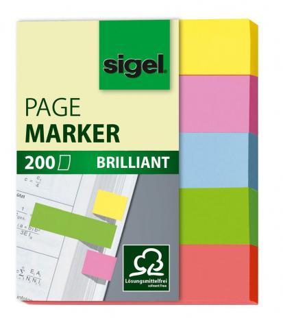 SIGEL Haftmarker Brillant 12 x 50 mm