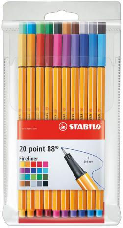 STABILO® Fineliner point 88® 20 St./Pack.