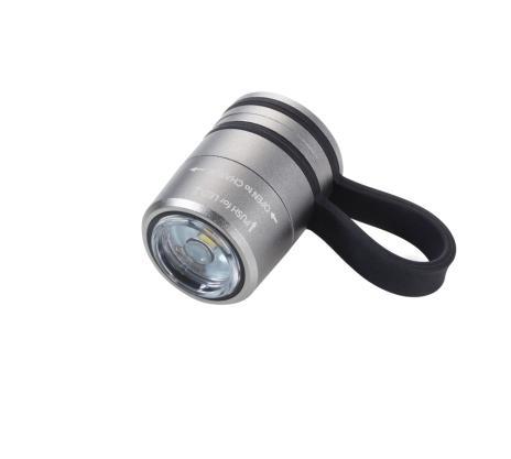 Troika Sport-Taschenlampe ECO RUN rot,schwarz