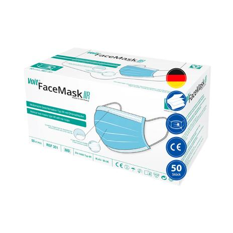 Voit OP-Masken, medizinische Gesichtsmasken Face Mask Typ IIR 50er Pack
