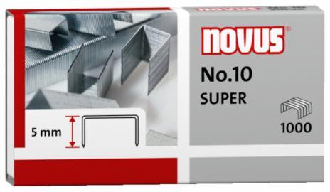 NOVUS Heftklammer No. 10 SUPER