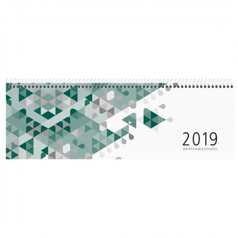 ZETTLER Schreibtischquerkalender Karton