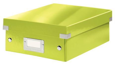 Leitz Archivbox Click & Store WOW 22 x 10 x 28,2 cm schwarz
