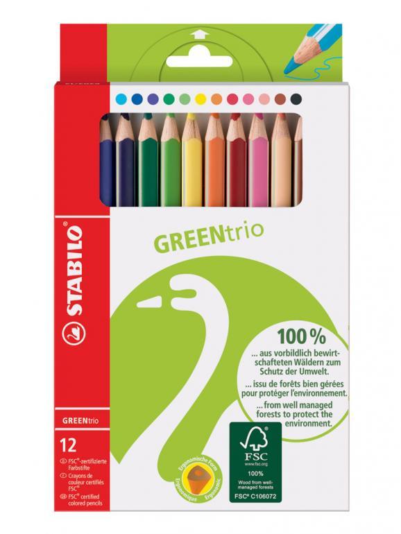 STABILO® Dreikant-Buntstift GREENtrio günstig im Saueracker Online Shop kaufen