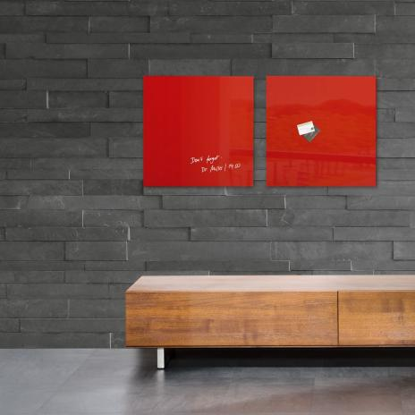 Sigel Glasboard artverum® 48 x 48 cm (BxH) super-weiß-10