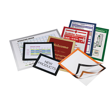 DURABLE Magnetrahmen DURAFRAME® DIN A4 silber-12