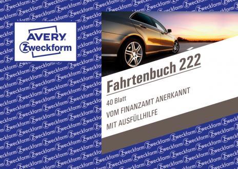 Avery Zweckform Fahrtenbuch DIN A6, 222-2