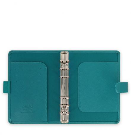 Filofax Organizer Saffiano PERSONAL aquamarine-2