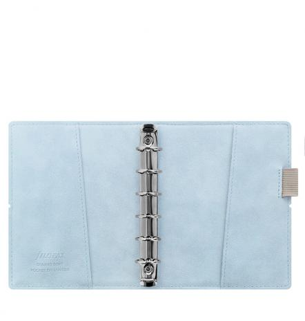 Filofax Organizer Domino POCKET Soft Pale Blue-2