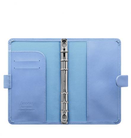Filofax Organizer Saffiano PERSONAL COMPACT vista blue-2