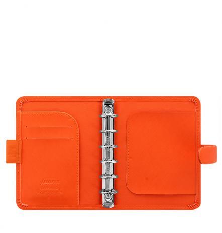 Filofax Organizer Saffiano POCKET bright orange-2