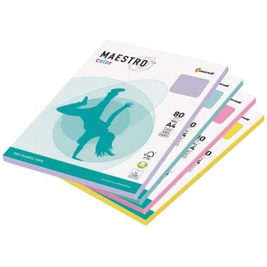 MAESTRO® Kopierpapier Color Pastell DIN A4 mittelgrün-2