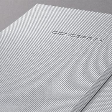 SIGEL Notizbuch CONCEPTUM® Hardcover DIN A4 kariert rot-2