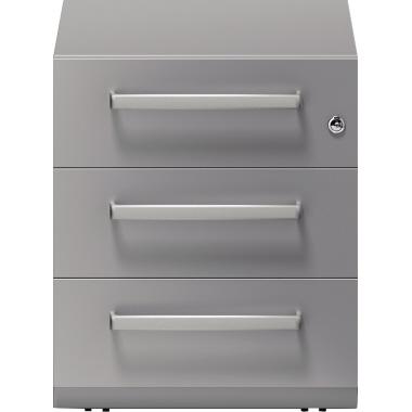Bisley Rollcontainer Note™ 42 x 49,5 x 77,5 cm 3 Schubfächer anthrazit-2