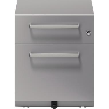Bisley Rollcontainer Note™ 42 x 49,5 x 56,5 cm 1 Schubfach silber-2
