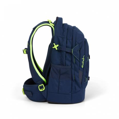 Satch PACK Schulrucksack Toxic Yellow-2