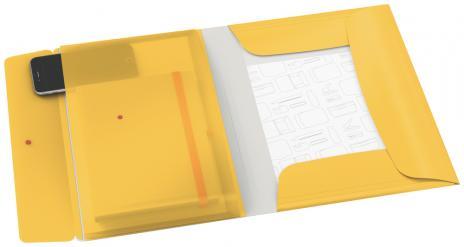 Leitz Sammelmappe Cosy A4 PP mit 3 Klappen gelb-2