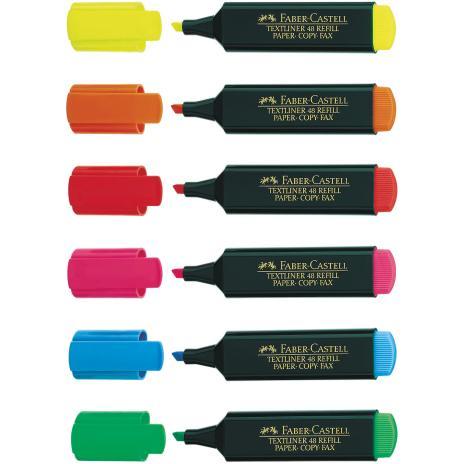 Faber-Castell Textmarker TEXTLINER 48 Refill grün-2