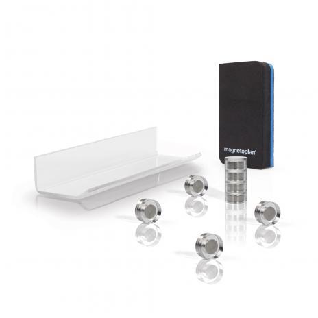 magnetoplan® Zubehörset für Glasboard-2
