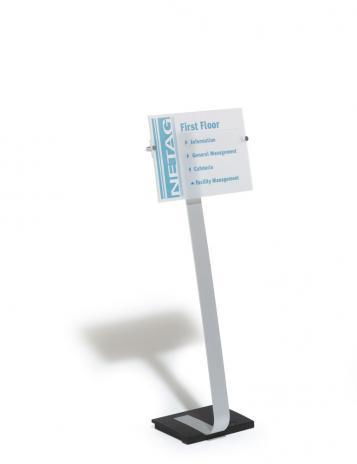 DURABLE Sichttafelständer CRYSTAL SIGN DIN A3-2