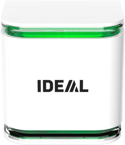 IDEAL Luftsensor AS10 mit optischer Anzeige der Raumluftqualität-2