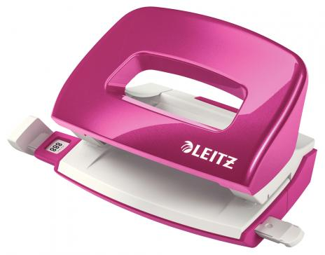 Leitz Locher New NeXXt WOW 10 Bl. pink-2