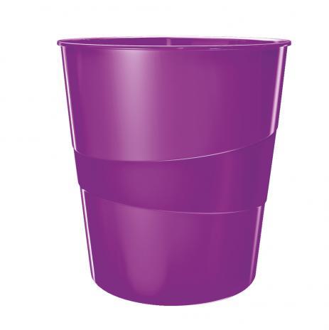 Leitz Papierkorb WOW violett-2