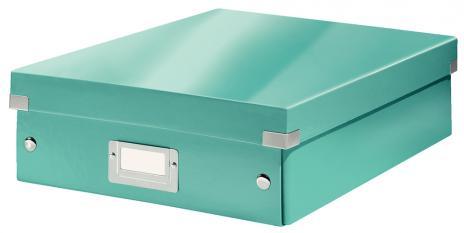 Leitz Aufbewahrungsbox Click & Store WOW 28 x 10 x 37 cm blau-2
