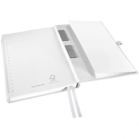 Leitz Notizbuch Style DIN A5 kariert Hardcovereinband satin schwarz-2
