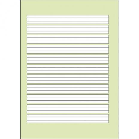 Schulheft DIN A4, Lineatur 1, 32 Blatt-2
