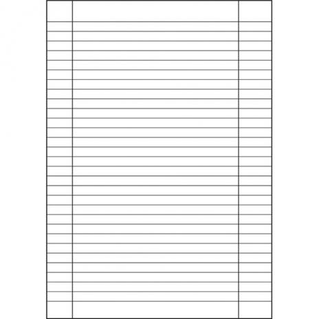 Schulheft DIN A4, Lineatur 27, Recycling-Papier, liniert, 16 Blatt-2