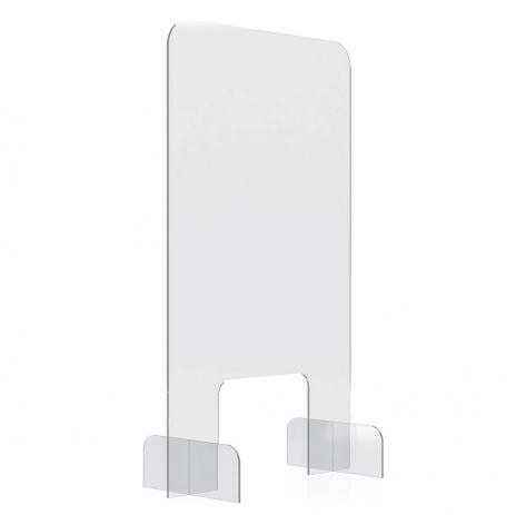 magnetoplan® Nies- und Spuckschutz, Acryl Tischaufsteller 500 x 850 mm (B x H)-2