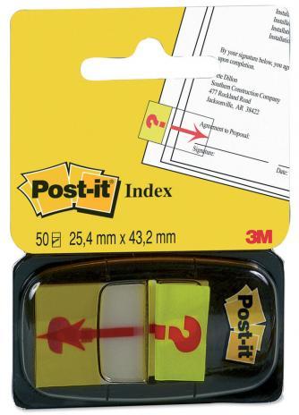 Post-it® Haftstreifen Index Symbol Fragezeichen-2